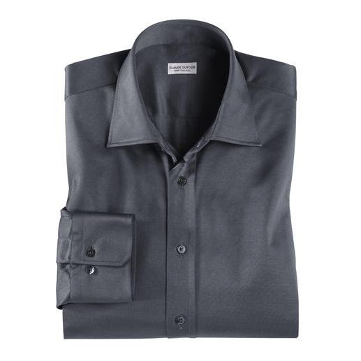 Chemise en jersey de Claude Dufour Toujours impeccable pour vos rendez-vous officiels. Mais aussi confortable qu'une chemise détente.