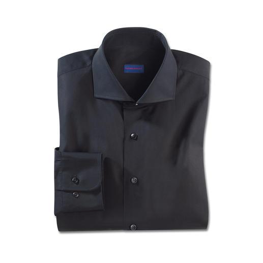 Chemise Constant-Colour Le noir reste noir. Même après de nombreux lavages. La chemise « constant colour » par Claude Dufour.