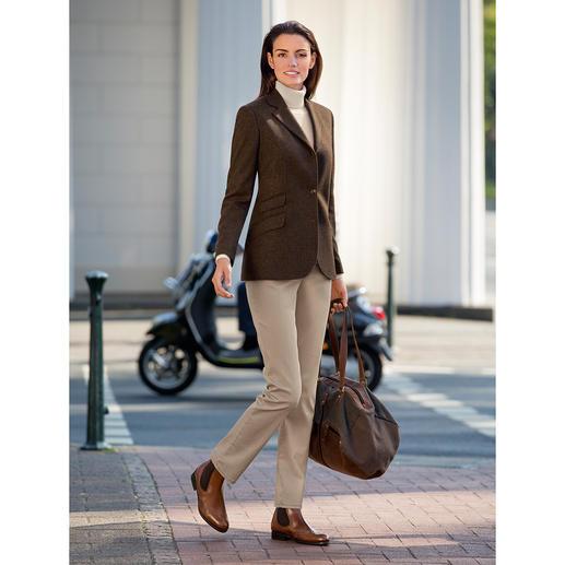 Blazer pour femme Kastell en laine vierge/cachemire Coupe nette. Ligne parfaite. Détails pleins de charme. Le blazer classique en laine vierge pour femmes.