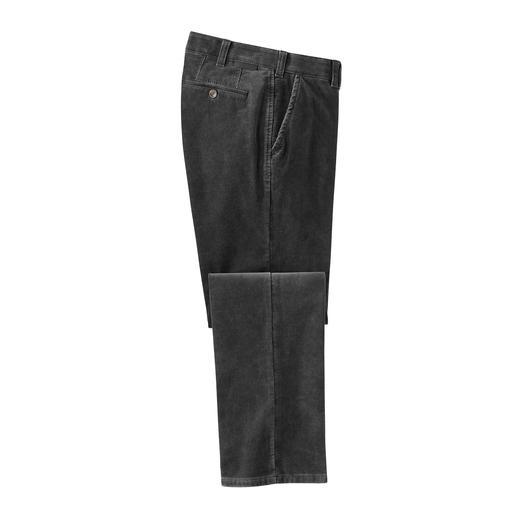 Pantalon en velours fin Thermolite® Pantalon classique en velours fin au confort thermique invisible.