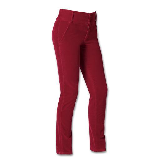 Pantalon noble en velours côtelé Cotton-Line Le modal et le cachemire rendent ce pantalon incroyablement souple et étincelant de couleurs.