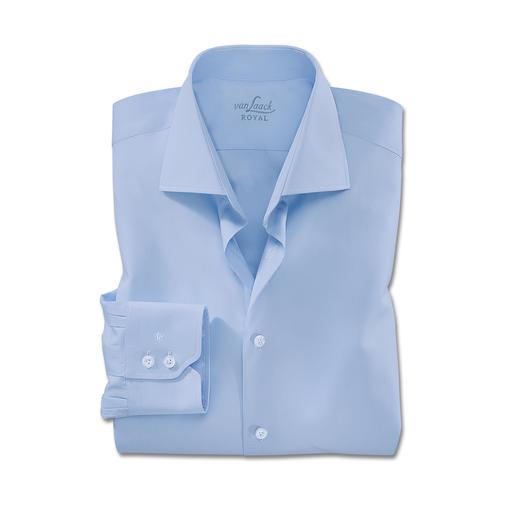 Chemise premium « Royal » de van Laack Tailor Fit ou Slim Fit Le meilleur coton. Une confection de toute première qualité. Facile à repasser.