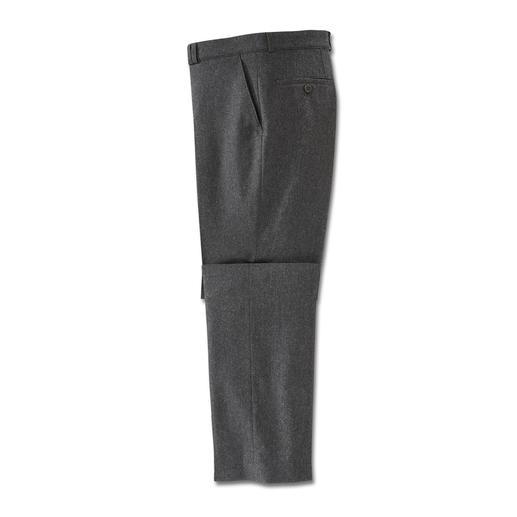 Pantalon en tweed Donegal Plus chic et élégant que la plupart des pantalons en tweed. Et même lavable en machine.