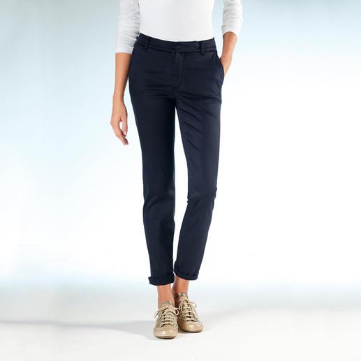 Pantalon chino avec Tencel® de Cotton Line La forme parfaite. Un mélange soyeux de Tencel® et de coton.