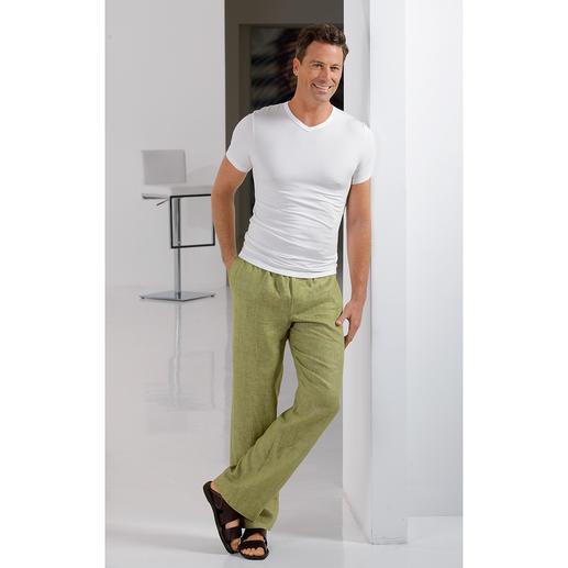 T-shirt, Slip ou Shorty en Micromodal® de Zimmerli Le blanc reste blanc. Le noir reste noir. En MicroModal®, la plus fine des fibres de cellulose naturelles.