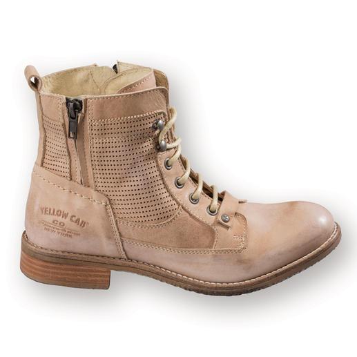 Bottines en cuir vachette Yellow Cab Jamais trop chaudes, jamais trop froides. Les chaussures idéales pendant 8 mois de l'année.