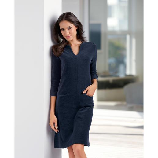 Robe relax en tissu éponge Aussi confortable qu'un survêtement, mais nettement plus séduisante.