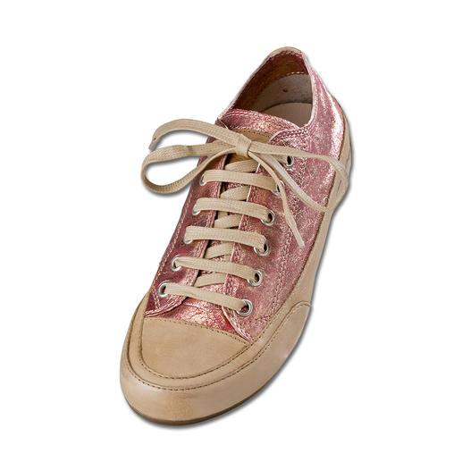 Sneaker en cuir Metallic de Candice Cooper Des vacances pour vos pieds – en cuir de chèvre très doux.