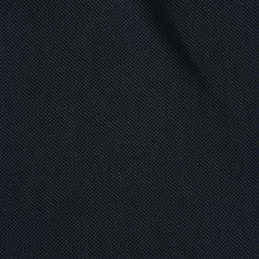 Polo en mesh Tricot filet aérien, poids plume et néanmoins opaque. Le polo en mesh pur coton. Par Sunspel, Angleterre.