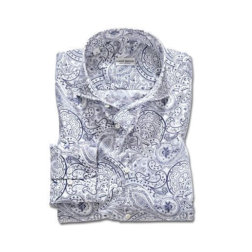 Chemise Paisley, Claude Dufour Un classique en tant que motif à cravate. Très tendance pour les chemises : les motifs Paisley.