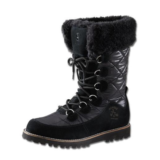 Aigle Snow-Boot en fourrure Poids plume. Design réussi. Et pourtant, des bottes 100 % conçues pour l'extérieur.
