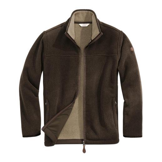 Veste Polartec® Aigle Réchauffante en hiver, déperlante et coupe-vent grâce au Polartec® Classic 300. Par Aigle.