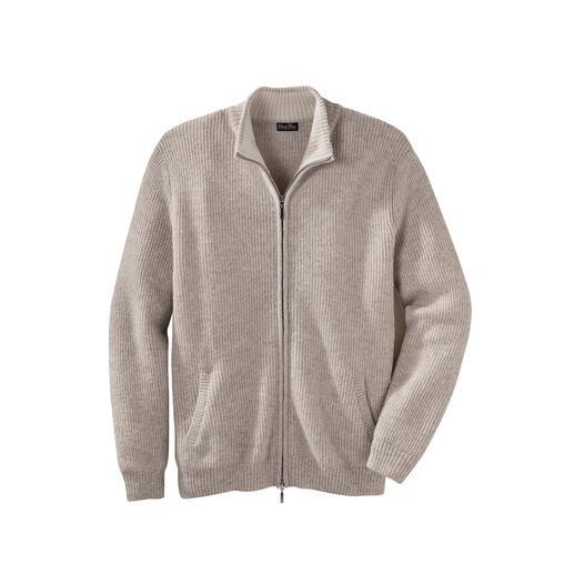 Veste en tricot bébé alpaga Clark Ross Doux comme du cachemire, mais assez robuste pour la vie quotidienne.