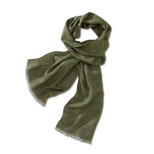 Écharpe en laine double face d'Ascot Elégante des deux côtés. Et incroyablement polyvalente.