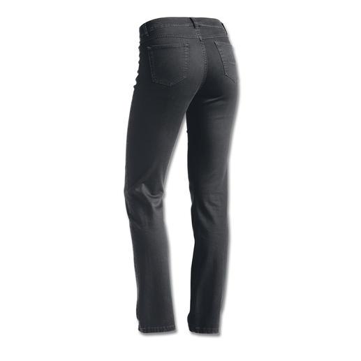 Jean de luxe avec cachemire Le jean de luxe au cachemire de la meilleure qualité. Doux au toucher. À l'aspect soyeux. Et au look soigné.