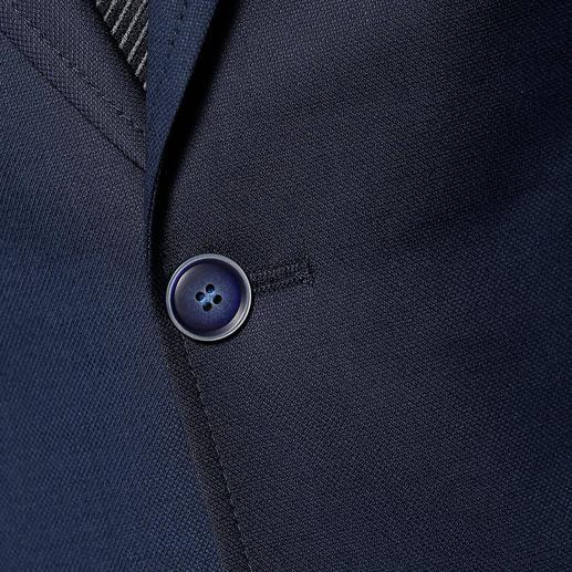 Veste de voyage Carl Gross La veste idéale au quotidien comme en voyage. Infroissable, intachable. Et pourtant en pure laine vierge.