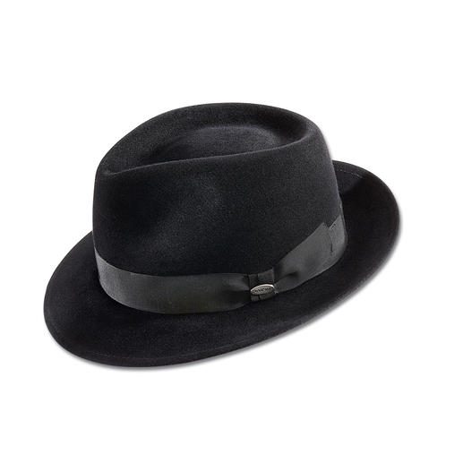 Borsalino pour femme Mayser La nouvelle originalité : des chapeaux masculins. Mais confectionnés de préférence par un spécialiste.