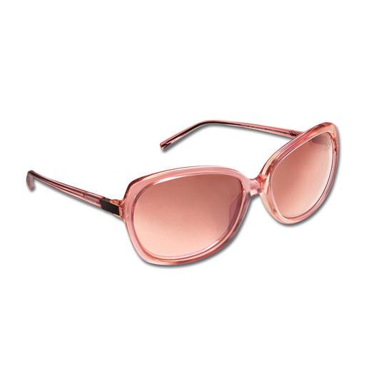 Lunettes de soleil rétro Strenesse Une prouesse rarement réussie : une monture de lunette grand format qui flatte aussi les visages fins.