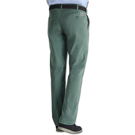Le pantalon en canvas fin Plus élégant et plus frais que le denim mais cependant assez robuste pour ne pas faire trop chic.