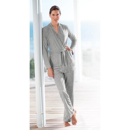 Tenue d'intérieur Cornelie Weiss, gris chiné Une couleur et une beauté durables, une robustesse sans égale.
