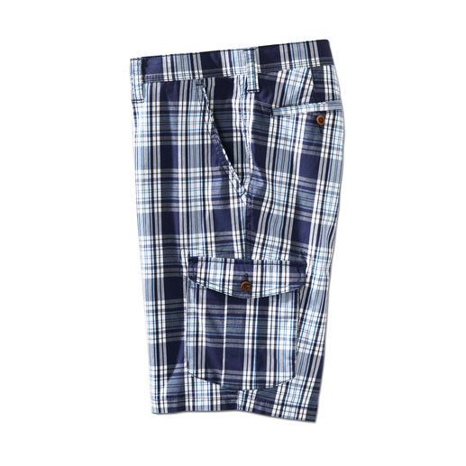 Bermuda Prince-de-Galles Eurex by Brax La façon la plus stylée de porter un short à carreaux. Couleurs maritimes. Longueur idéale.