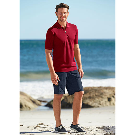 Polo à manches courtes Coolmax® Un polo qui ne peluche jamais, ne rétrécit pas, garde sa couleur et sèche 2 fois plus vite qu'un polo en coton.