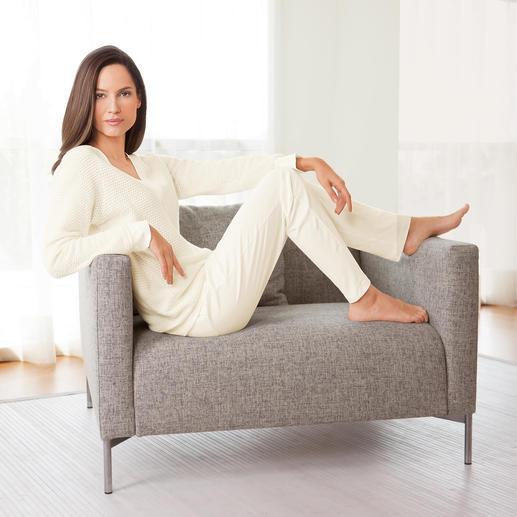 Ensemble détente Pluto tricot Un style résolument noble grâce au tricot texturé. Un ensemble détente des plus remarquables !
