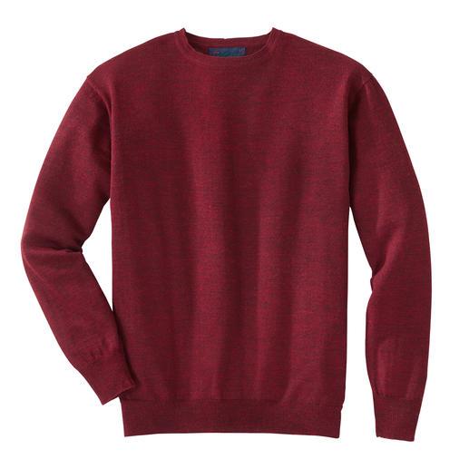 Le pull de voyage en alpaga, en col rond ou en col V En laine de bébé alpaga, ce pull sera votre compagnon indispensable en voyage.
