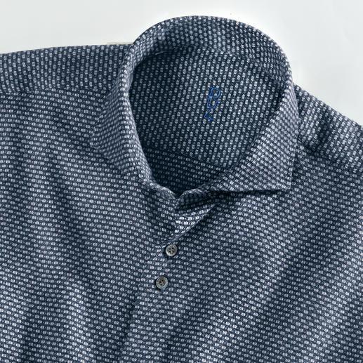 Chemise en fil jaspé Dufour Une chemise aussi chaude et confortable que votre pull favori.