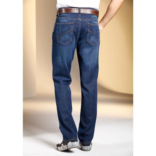 Jean 24 heures sur 24 L'apparence d'un jean classique avec le confort d'un pantalon de survêtement.