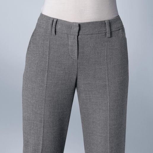 Pantalon de bureau Seductive « Blended Wool » Doux. Ne pique pas. Confortablement élastique. Résistant. Et lavable en machine.