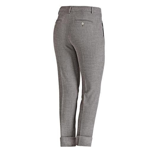 Pantalon d'affaires Seductive « Blended Wool » Doux et non grattant, agréablement extensible, néanmoins résistant et lavable en machine.