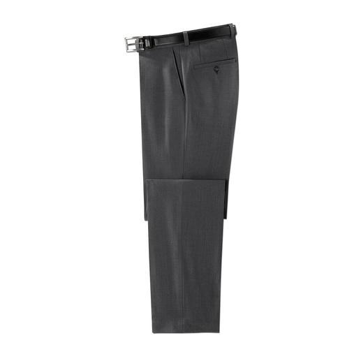 Pantalon de voyage Club of Comfort La praticité d'un pantalon de voyage, l'aspect d'un pantalon tailleur. 7 poches. Pas de plis, ni de taches.
