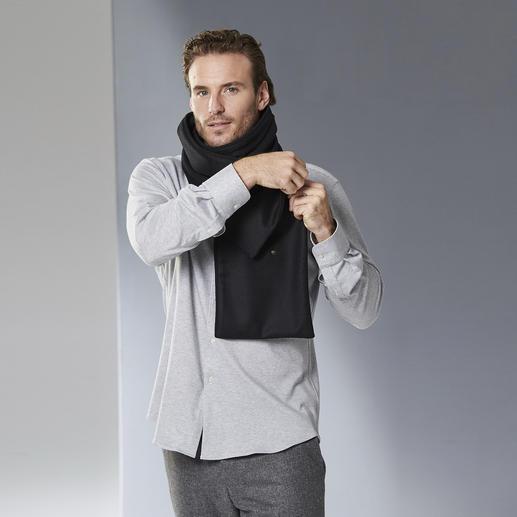 Écharpe boutonnée les D'Arcs Se drape avec élégance, bonne tenue.