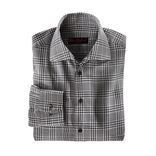 Chemise en flanelle de cachemire Agréablement chaude, extraordinairement douce et à un prix fabuleusement avantageux !