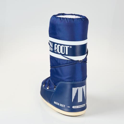 Véritable Moon Boot® Une forme trapue et massive, mais un poids plume : la véritable Moon Boot®.