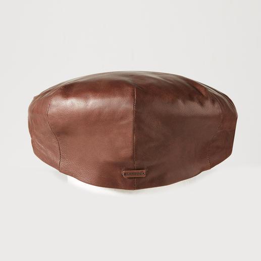 Casquette plate en cuir de mouton Kangol Casquette plate de luxe : en cuir de mouton moelleux. Par Kangol®, fabricant traditionnel britannique depuis 1938.