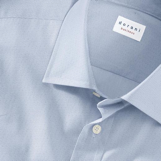Chemise faux-uni Motif minimaliste stylé par impression numérique.