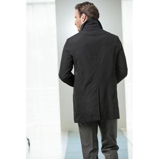 Manteau trois-quarts Waterville Un manteau trois-quarts aura rarement été aussi élégant. Coupe-vent. Imperméable. Ne pèse que 530 g.