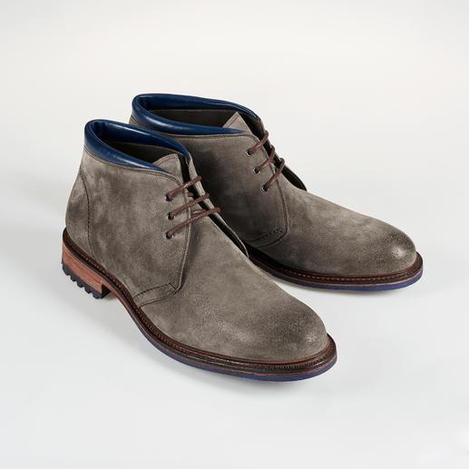 Bottines en daim Cordwainer Des chaussures cousues trépointe sont rarement aussi tendance et décontractées – et si abordables.