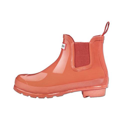 Chelsea boots Hunter La preuve que des bottes en caoutchouc peuvent être stylées.