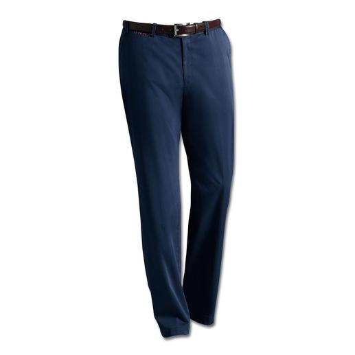 Pantalon chino Supima® Hiltl Toucher ultra doux et beauté durable : le luxueux pantalon chino en coton Supima®.