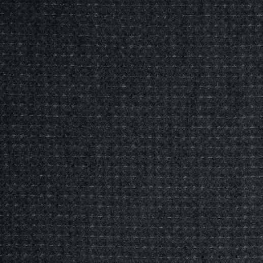 Gilet en piqué de coton gaufré Hollington Et pourtant il existe : le gilet noir stylé qui vous accompagne tout au long de l'été. Par Patric Hollington.