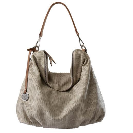 Sac hobo Suri Frey Raffiné et souple comme le cuir. Le sac hobo tendance à un prix très modéré.