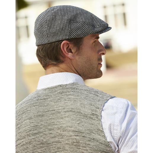 Casquette Ivy Stetson Une casquette élégante qui sort du lot! Belle casquette en drap de laine Lanificio F.LLI Cerruti dal 1881.