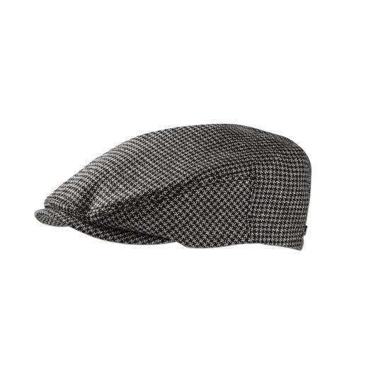 Casquette plate Stetson Bien plus élégante: la belle casquette en drap de laine Lanificio F.LLI Cerruti dal 1881. De Stetson.