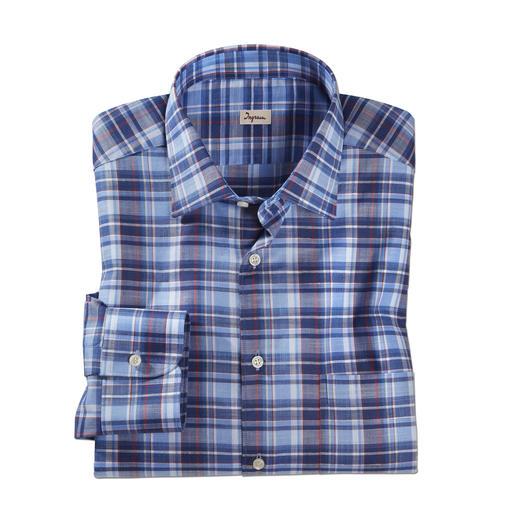 Chemise en lin « Smart Casual » Ingram Le complément idéal d'un blazer et d'une tenue élégante et décontractée.