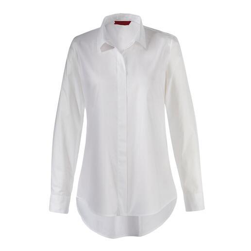 Chemisier long swiss+cotton Rare pièce maîtresse : une ligne très tendance et une qualité premium.