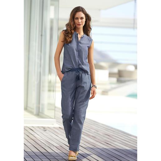 Pantalon ou Top à associer Alma & Lovis 5 raisons de craquer : léger, aérien, polyvalent, dans l'air du temps et abordable.