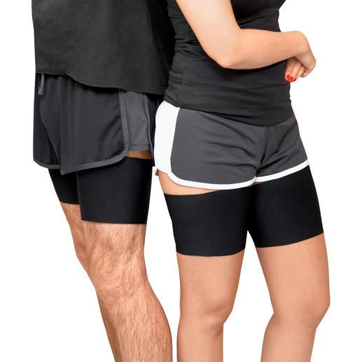 Bandelettes cuisses, microfibre unisexe ou dentelle Les bandelettes élastiques vous protègent de la plus belle des façons.